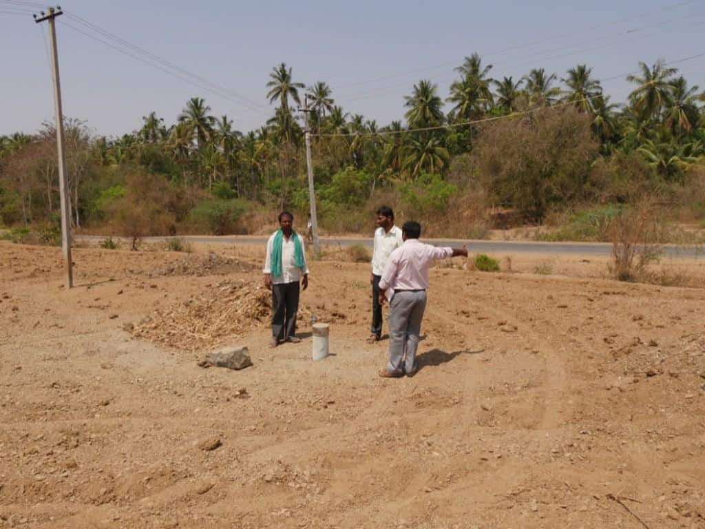 dry bore well